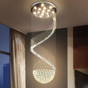 Modern Chandelier Led Crystal Light