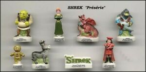 Shrek-Raro-Prototipo-Proto-Set-8-Mini-Figuras-de-Porcelana-Coleccion-FEVES