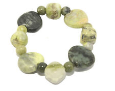 Heart Bracelet Handcrafted Connemara Marble Irish Ireland J C Walsh Green JW1012