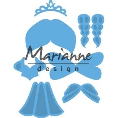 Marianne Design Creatables Petra/'s Circle With Bird 19 X 15.5 X Cm Metal Blue
