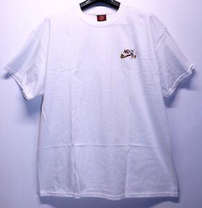 d338c1dd3c1 Nike Air Concepts Holy Grail White Logo Tee S S Shirt Men s Size XL ...