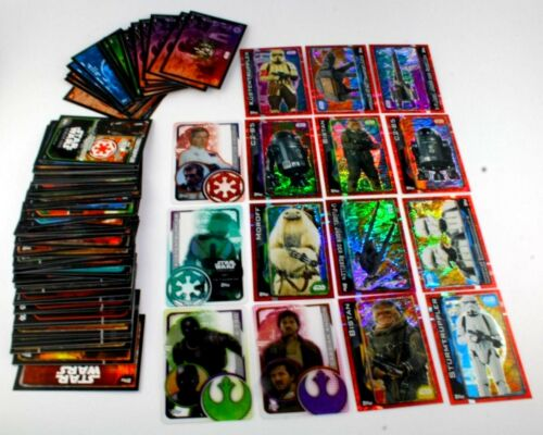 Star Wars-Rouge One 25 différentes cartes Topps-germano-collect-RARE