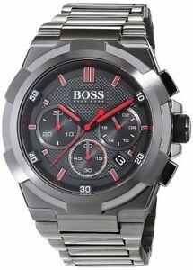 Nuovo-di-Zecca-HUGO-BOSS-Cronografo-in-Acciaio-Inox-Men-Watch-HB1513361