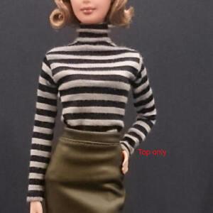 "Handmade~Doll tops for 12/"" Doll~ Barbie,Fashion royalty Silkstone ."