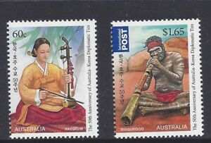 Australia-2011-Korea-Year-of-Friendship-Pair-of-Stamps