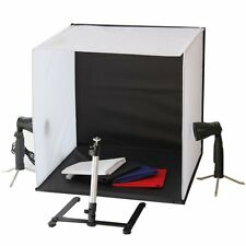 MINI portatile studio fotografico Illuminazione Kit (cubo / Tenda) LED