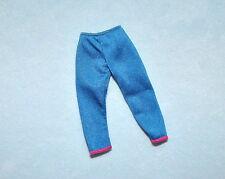 SASSY Shimmering Medium Blue Capris Capri Pants Clothes for BARBIE