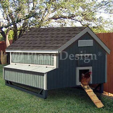 5'x6' Gable Chicken / Hen House / Coop Plans, 90506MG