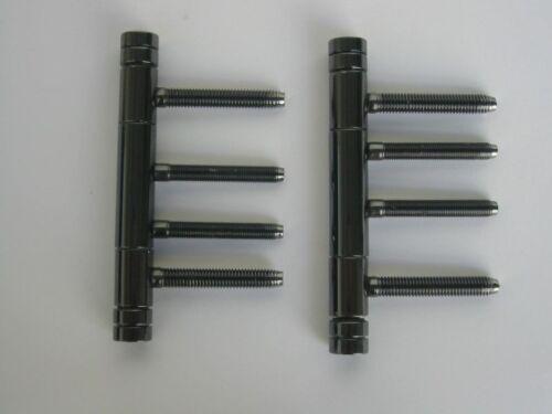 Simonswerk Zimmertür Variant V 4426 WF Bänder 3 teilig Stahl schwarz vernickelt