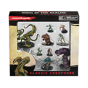 Icons of the Realms - Classic Creatures Brand New  Sun City Games