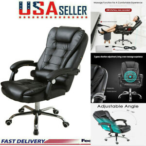 Ergonomic-Leather-Massage-Chair-Recliner-Sofa-Vibrating-Lounge-Office-Home-Chair