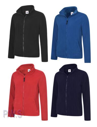 UC608 Uneek Ladies Classic Full Zip Fleece Jacket Womens Micro Fleece