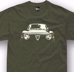 8ffb5626f7e Classic car tshirt for alfa romeo junior gt fans GTA 1750 2000 ...