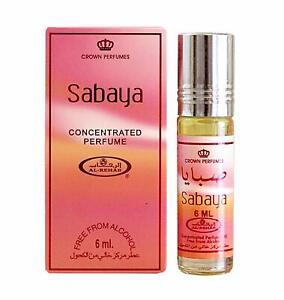 Details about New Al Rehab Sabaya Attar Original Fragrance Perfume Alcohol Free Long Lasting