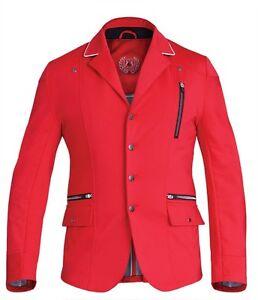 """Vente!!! Fair Play Homme Ralf Softshell Compétition/show Veste En Rouge-ow Jacket In Red"""" afficher Le Titre D'origine Avec Les éQuipements Et Les Techniques Les Plus Modernes"""