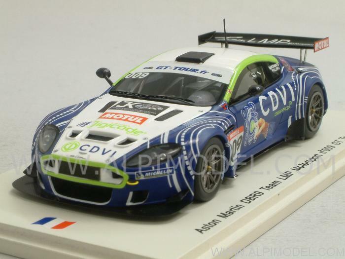 Aston Martin DBR9 GT Tour 2011 Paillard - Santamato 1 43 SPARK SF027