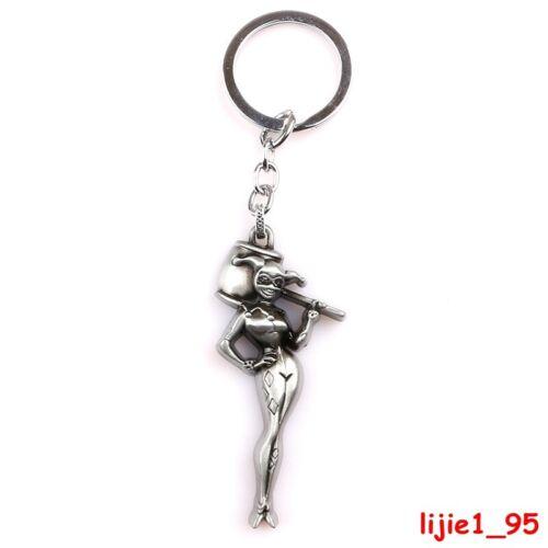 Suicide Squad DC Comics Harley Quinn Alloy Key Chains Keychain Keyfob Keyring