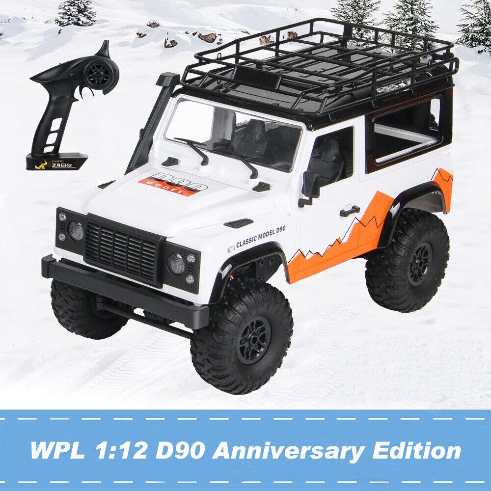 MN-99 para D90 Land Rover Anniversary Edition 1 12 2.4G 4WD RC coche escalando listo para correr