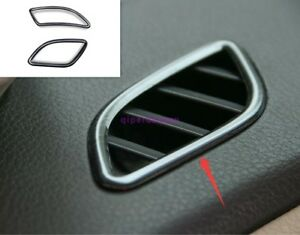 Black titanium Side Air Vent Outlet Cover Trim For Nissan Teana Altima 2013-2018