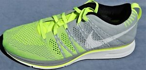 1e33ce51c72950 NEW 2013 NIKE FLYKNIT TRAINER +WOMENS SIZE 8 MENS 6.5 VOLT GREEN ...