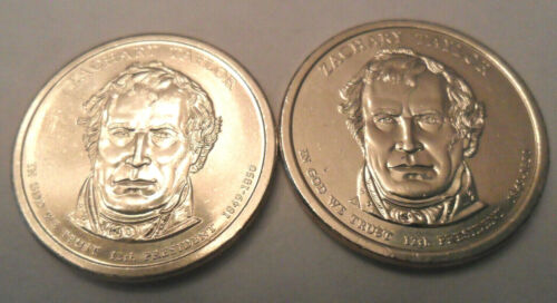 2009 P /& D Zachary Taylor Presidential Set   **FREE SHIPPING