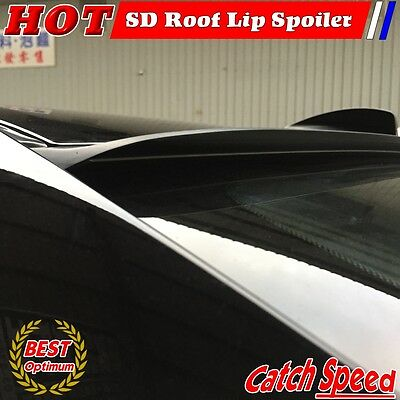 Flat Black SD Type Rear Roof Spoiler Wing For Hyundai Genesis 2008~2012 Coupe