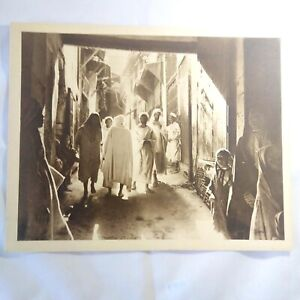 Photo-Flandrin-large-Heliograph-Editions-Mars-34-Maroc-Les-Rues-Mysterieuses