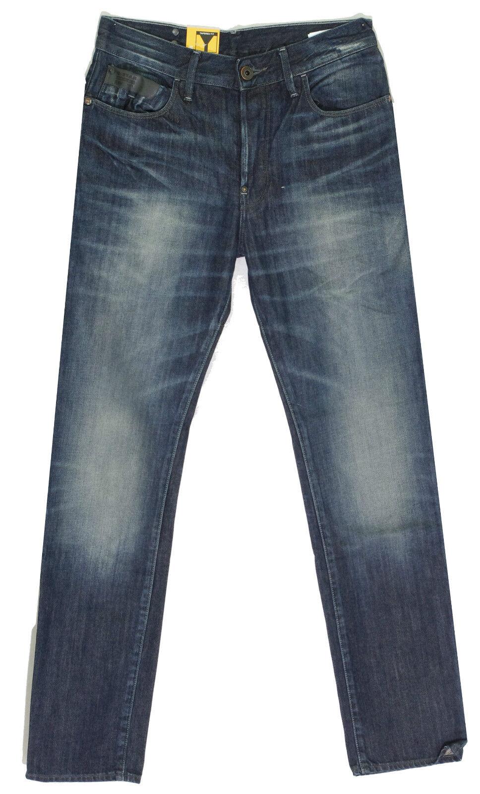 G Estrella RAW jeans homme Blades Taperojo dark  aged comfort cuisses  artículos de promoción
