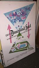 Disneyland Hotel Construction Sign Panel Attraction Poster Disney Prop Display