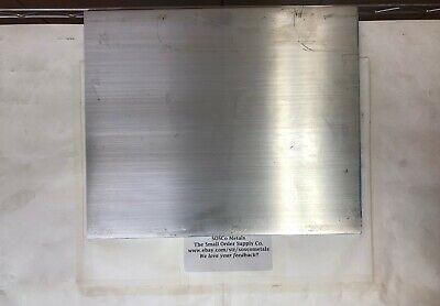 "3//8/"" X 10/"" ALUMINUM 6061 FLAT BAR 18/"" long Solid T6511 .375/"" Plate Mill Stock"