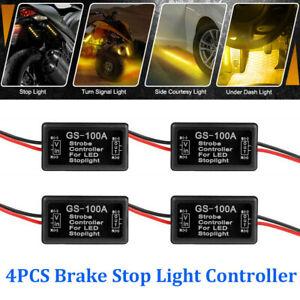 4X-GS-100A-modulo-Flash-Estroboscopico-Controlador-Caja-intermitente-LED-de-luces-de-parada-de-cola