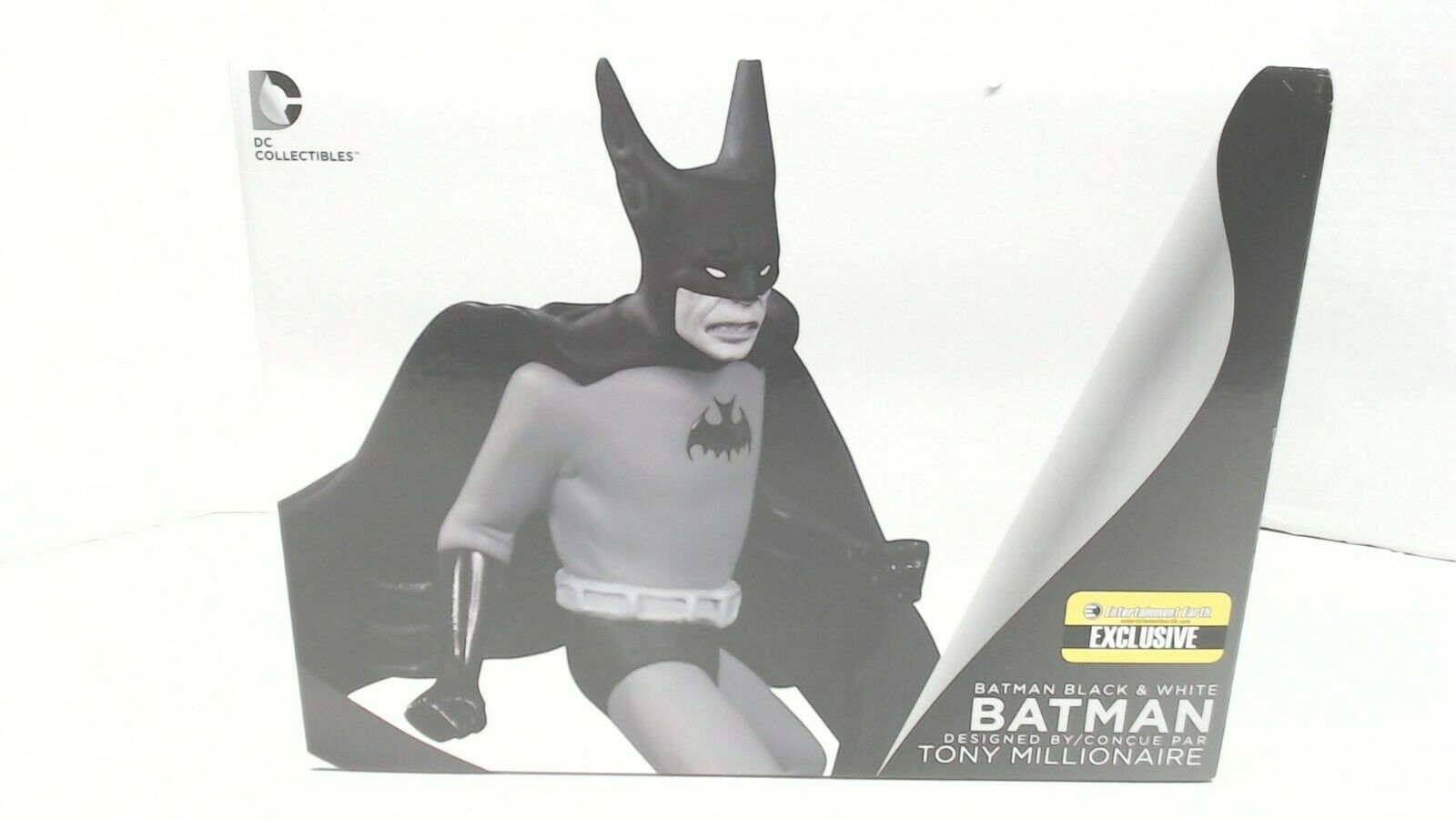 Batman Black and White by Tony Millionaire Statue as seen Bizarro NIB $69