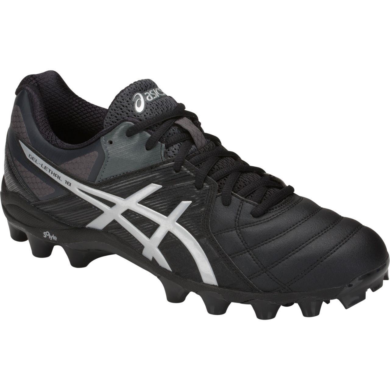 Ganga Asics Gel letal 18 Para Hombre botas de fútbol (001)