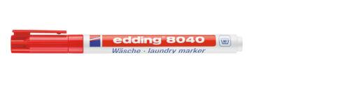 e-8040 Wäsche Marker rot,
