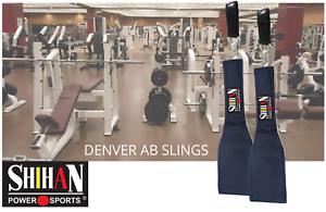 DENVER BLUE AB Slings Abdominal Strap Crunch Weight Lifting Door Hanging Gym TOP
