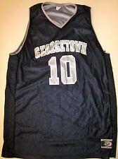 GEORGETOWN HOYAS BASKETBALL JERSEY NCAA #10 MEN'S MEDIUM NEW!