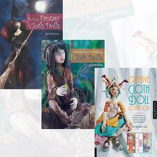 Patti Medaris Culea & Jan Horrox Collection Cloth Doll 3 Books Set Pack NEW