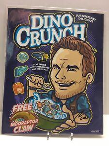 Jurassic-World-Chris-Pratt-Dino-Crunch-w-CLAW-8x10-VARIANT-Art-Print-BAM-Box-500