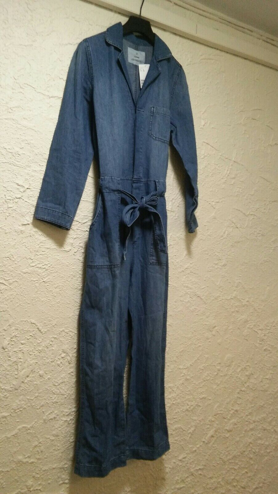 Ladies Denim Belted Jumpsuit H&M Size 6 SOLD OUT VERY RARE BRAND NEW WITH TAG