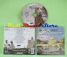CD BOBBY SOLO Canzoni romane memories of rome 2006 AZZURRA (Xi2) no lp mc dvd