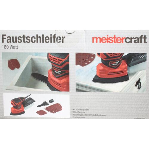 Meistercraft poing meuleuse 180 W Meuleuse 12 pierres 2 Enregistrements