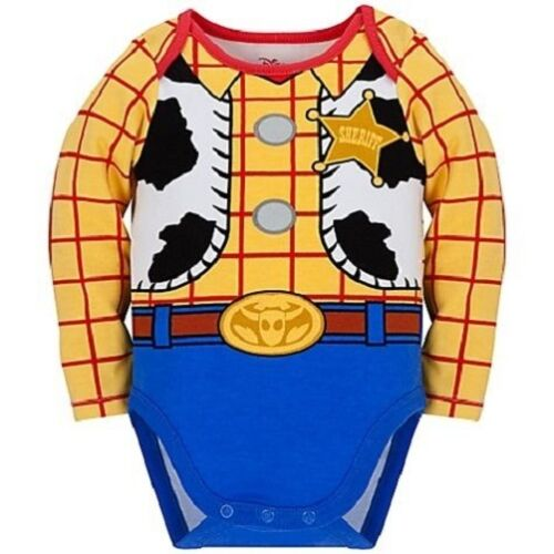 WooDy~BodySuit Cap~CoTTon~Baby~Infant 6-24M~Disney Store~Toy Story~Sheriff