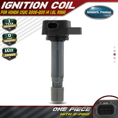 Ignition Coil Pack for Honda Civic 2006-2011 R18A1 R18A4 1.8L 30520RNAA01 UF-582