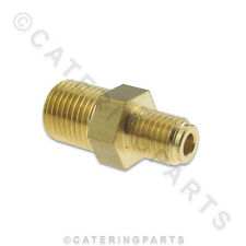 """ROBERTSHAW GIST GAS VALVE 1/8"""" to 1/4"""" PILOT CONNECTION PIECE / BRASS FITTING"""