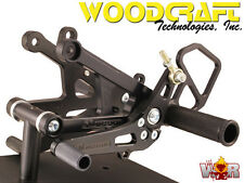 Woodcraft Rearsets Yamaha YZF-R6 2006-15 Standrad Shift Rear Set