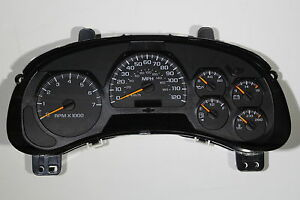 03-04-05-FULLY-REBUILT-TRAILBLAZER-SPEEDOMETER-GAUGE-CLUSTER-DASH-IPC-EXCHANGE