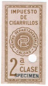 I-B-Colombia-Revenue-Cigarette-Tax-Class-2-ABN-Specimen
