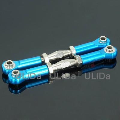166017 06048B Front//Rear Servo Link Steering Linkage for HSP 1//10 RC Car Parts