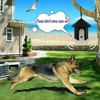 Lot 4 Pet-csb10 Outdoor Ultrasonic Dog Barking Stop Control System Pet Trainer A