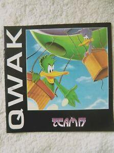 60887-Instruction-Booklet-Qwak-Commodore-Amiga-1993